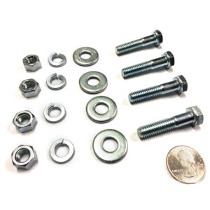 Zinc Plated Hardware Set